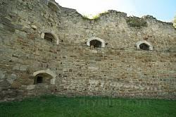 Теребовлянський замок. Північна стіна