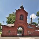Надбрамна дзвіниця церкви-усипальниці Миколи Пирогова у Вінниці