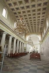Інтер'єр костелу св.Петра і Павла у Теребовлі