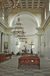 Теребовля. Інтер'єр парафіяльного костелу