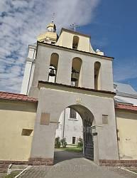 Теребовля. Брама-дзвіниця монастиря кармелітів
