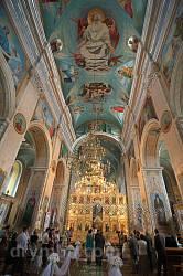 Церква св.Володимира (колишній костел кармелітів) у Теребовлі. Розписи