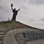 Холм Славы в Черкассах. Фигура Родины