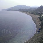 Пляж села Прибережне біля Судака