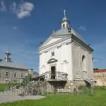 Монастир у Підкамені. Каплиця св.Яна Непомуцького