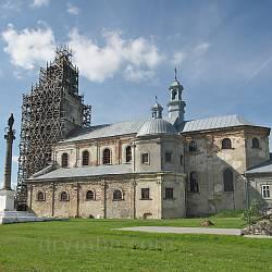 Підкамінь. Домініканський костел Вознесіння Господнього