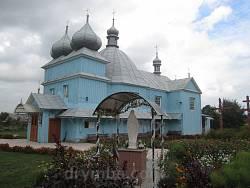 Село Ванів. Церква св.Дмитрія