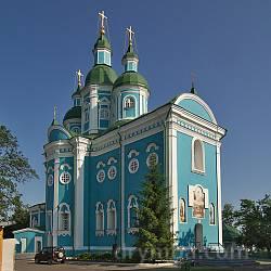 Красногорский Покровский (Спасо-Преображенский) монастырь (г.Золотоноша, Черкасская обл.)
