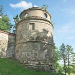 Монастир у Підкамені. Південно-західна башта