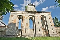Дзвіниця домініканського монастиря у Підкамені