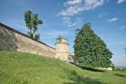 Південна оборонна стіна Підкамінського монастиря