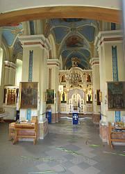 Монастир у Підкамені. Інтер'єр церкви (колишня каплиця костелу)