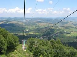 Крісельний витяг на гору Гимба