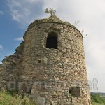 Василианский монастырь в Подгоре. Юго западная башня - единственная полностью сохранившаяся