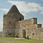 Монастырь в Подгоре. Юго-западная башня и остатки стены
