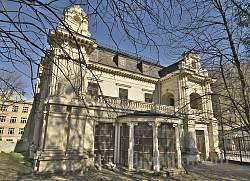 Палац Сапєг у Львові. Вид з подвір'я