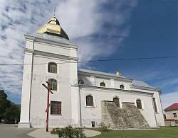 Теребовля. Костел монастиря кармелітів