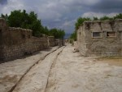Реставрована вулиця Чуфут-Кале