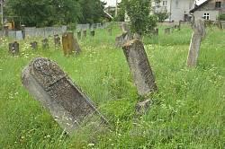 Залуква. Караїмський цвинтар