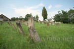 Цвинтар галицьких караїмів у Залукві