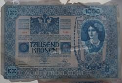 Австро-Угорська банкнота 1000 корон