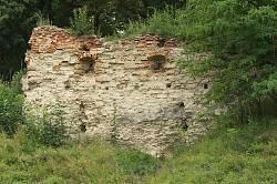 Основи південної башти замку