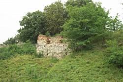Галицький замок. Основа південної башти