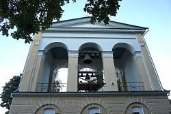 Диканька. Дзвіниця Свято-Миколаївської церкви