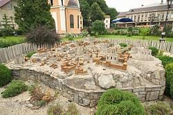 Макет споруд давнього Галича
