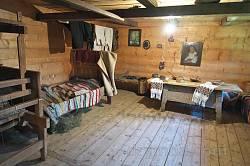 Інтер'єр кімнати у хаті-гражді Харуків