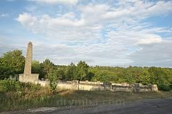 Звенячин. Загальний вигляд війського кладовища