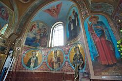 Церква Різдва Богородиці. Інтер'єр