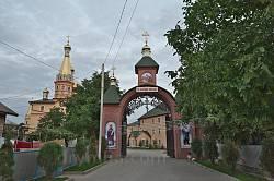 Вхідна брама монастиря