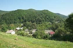 Краєвид села Виженка від церкви