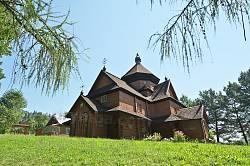 Дерев'яна церква Різдва Богородиці