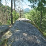Камінь Довбуша. Вершина