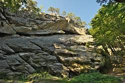 Соколине Око - найбільша скеля Протятих Каменів
