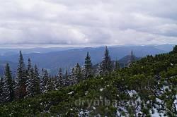Вид с вершины Хомяка