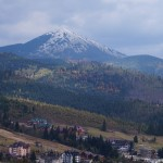 Похід на гору Хом'як, відвідини Буковелю
