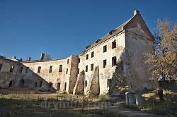 Північні корпуси Клеванського замку