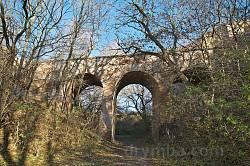 Арковий міст Клеванського замку у всій красі