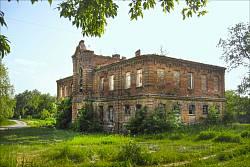 Колишній маєток поміщика на околиці Полтави