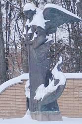 Памятник павшим милиционерам в Полтаве
