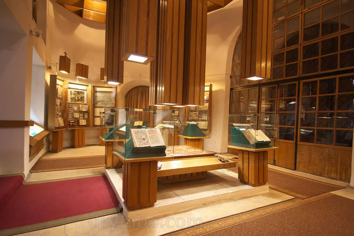 Музей книги и книгопечатания (г.Острог, Ровенская обл.): карта, фото, описание
