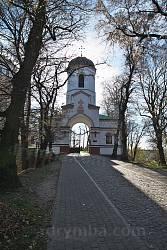 Надбрамна дзвіниця Богоявленської церкви - колишня замкова башта