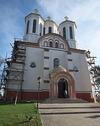 Богоявленська церква-фортеця. Фасад