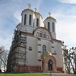Богоявленська церква-фортеця (замок, м.Острог, Рівненська обл.)