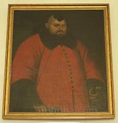 Портрет невідомого в червоній шубі. Початок 17 ст.