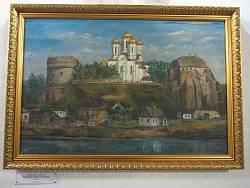 Острозький замок. Картина 19 ст.