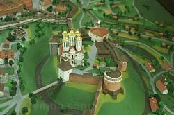 Замок у Острозі. Вид з боку Круглої башти